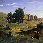 Metropolitan Museum: part 3 - Camille Corot - Hagar in the Wilderness