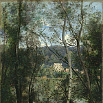 Camille Corot – A Woman Gathering Faggots at Ville-d'Avray, Metropolitan Museum: part 3