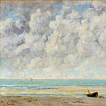 The Calm Sea, Gustave Courbet