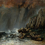 Marine: The Waterspout, Gustave Courbet