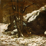 Gustave Courbet – The Deer, Metropolitan Museum: part 3