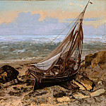Metropolitan Museum: part 3 - Gustave Courbet - The Fishing Boat