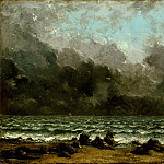 Gustave Courbet – The Sea, Metropolitan Museum: part 3