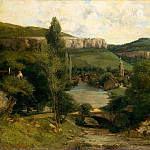 View of Ornans, Gustave Courbet