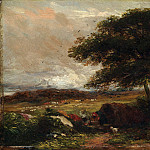 David Cox – Landscape with a Gypsy Tent, Metropolitan Museum: part 3
