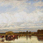 Metropolitan Museum: part 3 - Jules Dupré - Cows Crossing a Ford