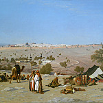 Charles-Théodore Frère – Jerusalem from the Environs, Metropolitan Museum: part 3