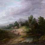 Wooded Upland Landscape, Thomas Gainsborough