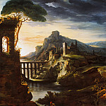 Théodore Gericault – Evening: Landscape with an Aqueduct, Metropolitan Museum: part 3