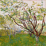 Vincent van Gogh – The Flowering Orchard, Metropolitan Museum: part 3