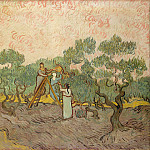 Vincent van Gogh – Women Picking Olives, Metropolitan Museum: part 3