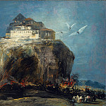 Metropolitan Museum: part 3 - Style of Goya - A City on a Rock