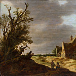 Metropolitan Museum: part 3 - Jan van Goyen - Sandy Road with a Farmhouse