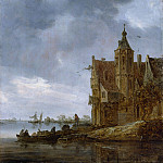Jan van Goyen – Country House near the Water, Metropolitan Museum: part 3