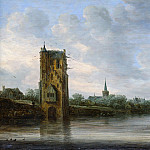 Jan van Goyen – The Pelkus Gate near Utrecht, Metropolitan Museum: part 3