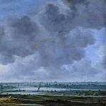 Jan van Goyen – View of Haarlem and the Haarlemmer Meer, Metropolitan Museum: part 3