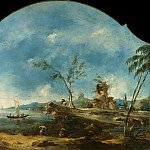 Metropolitan Museum: part 3 - Francesco Guardi - Fantastic Landscape