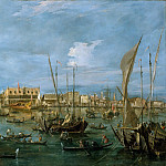 Francesco Guardi – Venice from the Bacino di San Marco, Metropolitan Museum: part 3