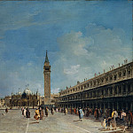 Francesco Guardi – Piazza San Marco, Metropolitan Museum: part 3