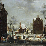 Metropolitan Museum: part 3 - Peeter Gysels - A Winter Carnival in a Small Flemish Town
