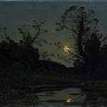 Moonrise, Henri-Joseph Harpignies