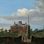 Metropolitan Museum: part 3 - Jan van der Heyden - The Huis ten Bosch at The Hague and Its Formal Garden (View from the South)