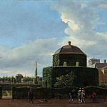 Metropolitan Museum: part 3 - Jan van der Heyden - The Huis ten Bosch at The Hague and Its Formal Garden (View from the East)