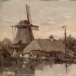 Metropolitan Museum: part 3 - Herman Willem Koekkoek - Mill on the Laan