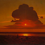 Arkhip Ivanovich Kuindzhi – Red Sunset on the Dnieper, Metropolitan Museum: part 3