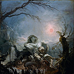Metropolitan Museum: part 3 - Jacques de La Joue the Younger - Allegory of Winter