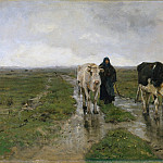 Anton Mauve – Changing Pasture, Metropolitan Museum: part 3