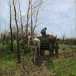Gathering Wood, Anton Mauve