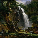Achille-Etna Michallon – Waterfall at Mont-Dore, Metropolitan Museum: part 3