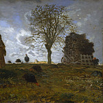 Metropolitan Museum: part 3 - Jean-François Millet - Autumn Landscape with a Flock of Turkeys