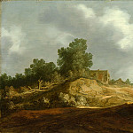 Pieter de Molijn – Landscape with a Cottage, Metropolitan Museum: part 3