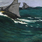 The Green Wave, Claude Oscar Monet