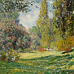 Landscape: The Parc Monceau, Claude Oscar Monet