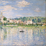 Claude Monet – Vétheuil in Summer, Metropolitan Museum: part 3