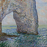 Claude Monet – The Manneporte near Étretat, Metropolitan Museum: part 3