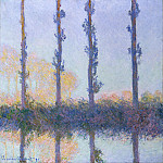 The Four Trees, Claude Oscar Monet