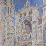 Rouen Cathedral: The Portal (Sunlight), Claude Oscar Monet