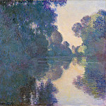 Claude Monet – Morning on the Seine near Giverny, Metropolitan Museum: part 3