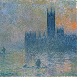 The Houses of Parliament (Effect of Fog), Claude Oscar Monet