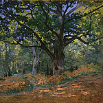 The Bodmer Oak, Fontainebleau Forest, Claude Oscar Monet