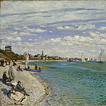 Claude Monet – Regatta at Sainte-Adresse, Metropolitan Museum: part 3