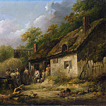 George Morland – The Bell Inn, Metropolitan Museum: part 3