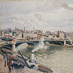 Metropolitan Museum: part 3 - Camille Pissarro - Morning, An Overcast Day, Rouen