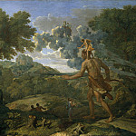 Nicolas Poussin – Blind Orion Searching for the Rising Sun, Metropolitan Museum: part 3