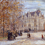 Metropolitan Museum: part 3 - Jean-François Raffaëlli - The Fletcher Mansion, New York City