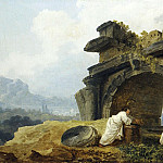 Metropolitan Museum: part 3 - Hubert Robert - Arches in Ruins